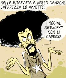I social network spiegati a Caparezza