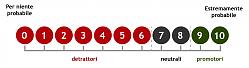 Scala del Net Promoter Score