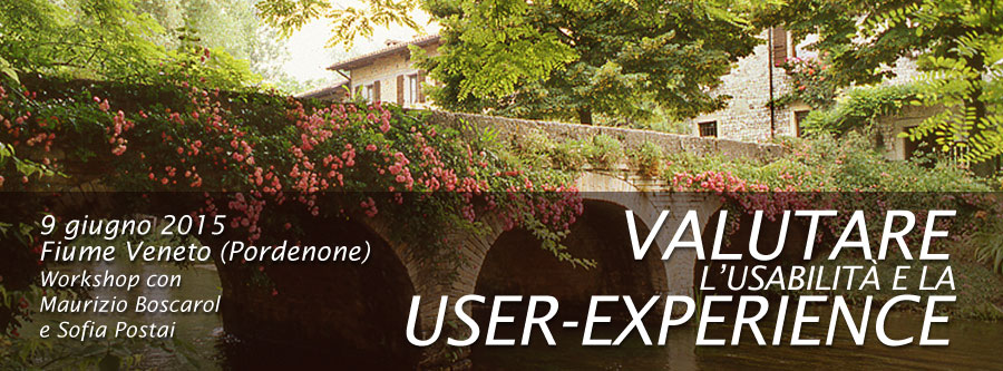 Valutare l'usabilità e la User-Experience