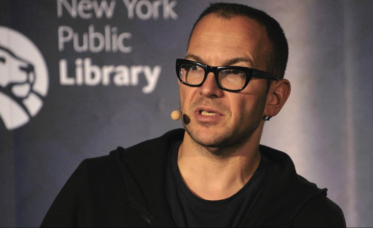 Cory Doctorow, New York Public Library 20 by Houari B., on Flickr
