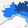 mappa regionale delle visite su questo sito