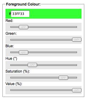 strumento per il contrasto dei colori